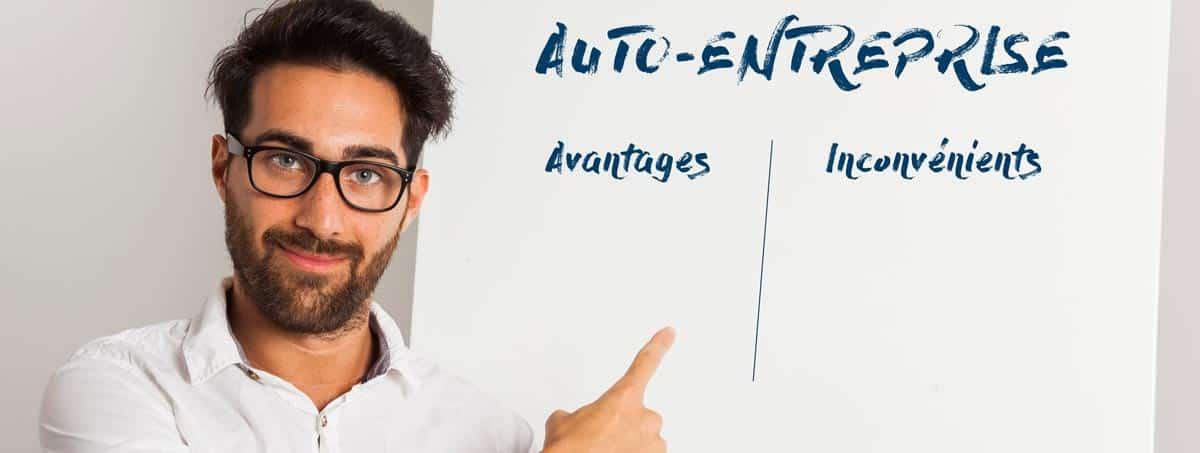 auto entreprise avantages inconvénients