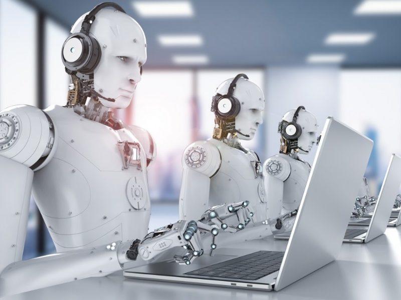 Robots sur ordinateurs