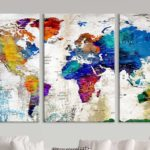 Une cartes du monde murales pour décorer sa maison!