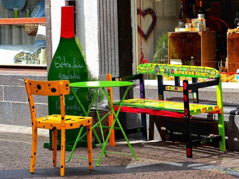 mobilier urbain entreprise